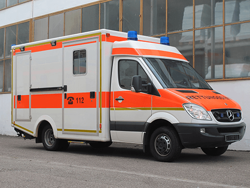 sustainable development community e. V. - ambulance